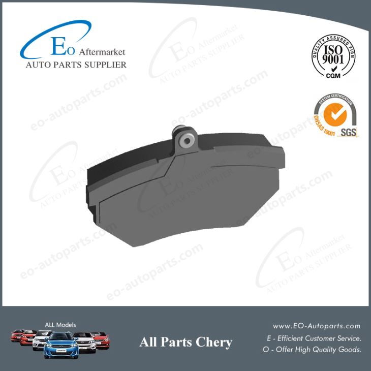 Brake Pads Front A11-6GN3501080 for Chery A15 Amulet Viana Vortex