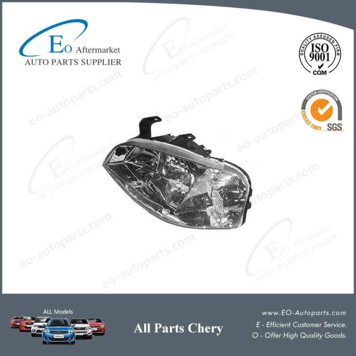 OE Quality Body Parts 12V A15 Headlights for Chery Amulet/A15/A168/Viana