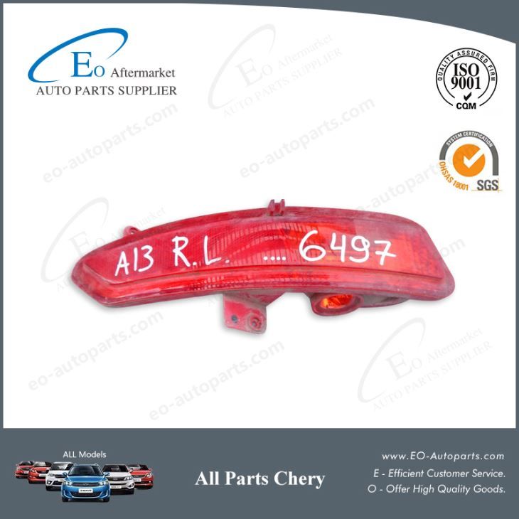 Tail Lights and Rear Lamps L:A13-3772010 R:A13-3772020 for Chery A13A/Very