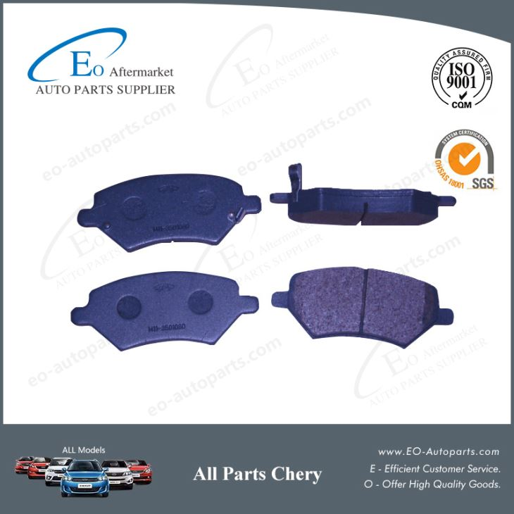 Front Brake Pads A13-3501080 For Chery A13 Fulwin/Forza/Bonus/MVM 315