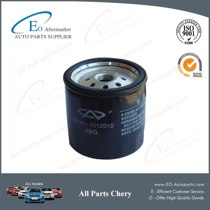 Engine Parts Chery Oil Filters 481H-1012010 for Chery S12 Kimo Arauca