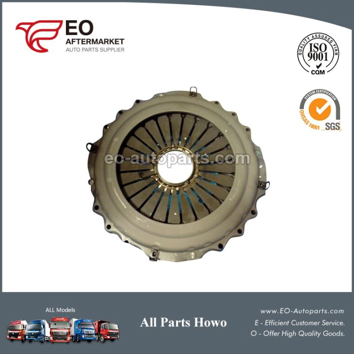 Sinotruk Howo And Steyr Heavy Duty Truck Parts Clutch Cover Assembly WG9114160010