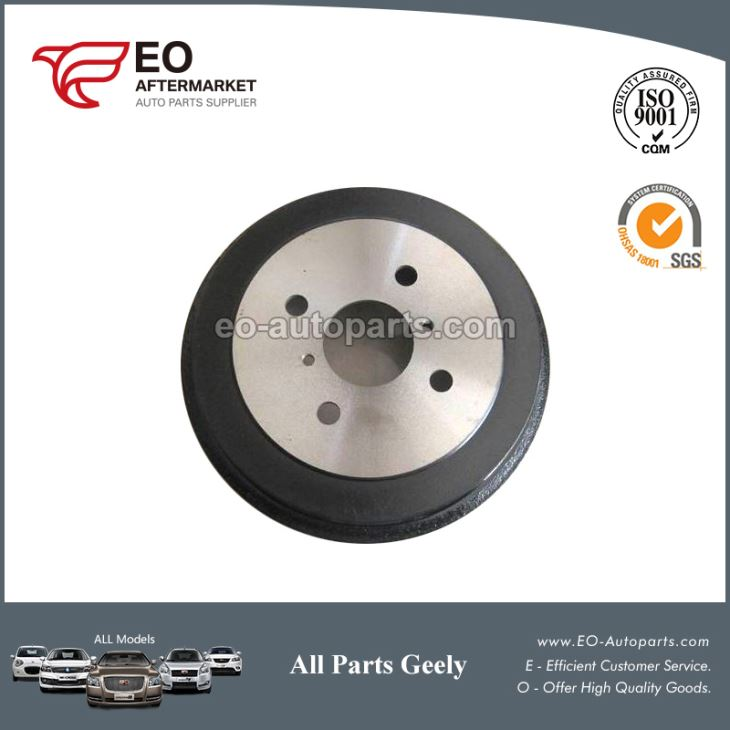 Brake Parts Rear Brake Drum 1014001815 For Geely Mk Cross King Kong Cross
