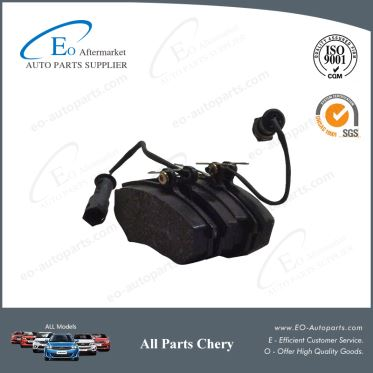 Brake System Chery Brake Pads Front B11-6BH3501080 for Chery B11 Eastar