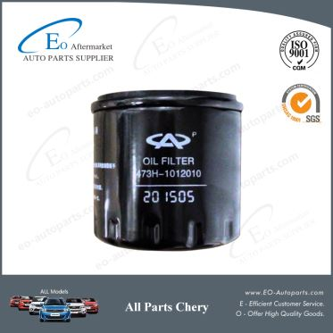 Chery Engine Parts Oil Filters 473H-1012010 for Chery S18D Indis