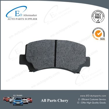OE Quality Brake Pads S21-3501080 for Chery S21/QQ6/Speranza A213/Jaggi