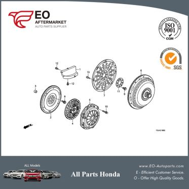 Clutch Disc For 2013-17 Honda Accord Sedan & Coupe EX, LX, LX-S 22200-5C8-003
