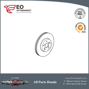 Front Disc Brake Rotor For 2008-12 Honda Accord Sedan & Coupe EX 45251-TA6-A00