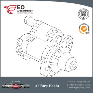 Starter Motor Assembly For 2010-12 Honda Accord Coupe &Seden 31200-R70-A51