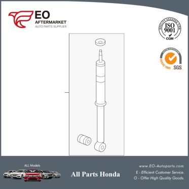 Shock Absorber Assy, Rear For 2012-2013 Honda Fit 5-Door 52610-TK6-309
