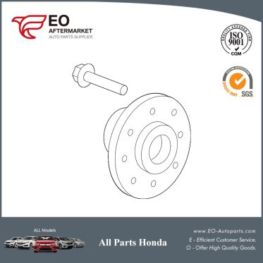 Wheel Hub Front For 2015-2017 Honda Fit 5-Door EX, EX-L, EX-LN, LX 44600-T5B-N00
