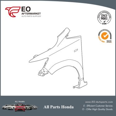Panel, L Front Fender For 2015-17 Honda Fit 5-Door EX,EX-LN, LX 60261-T5R-A91ZZ