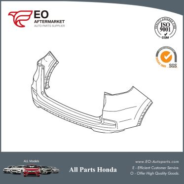 Bumper Rear For 2015-16 Honda CR-V 5-DOOR EX,EX-L,LX,TOURIN,04715-T1W-A91ZZ