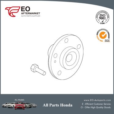 Front Wheel Hub Assembly For 2007-16 Honda CR-V 5-DOOR EX, EX-L, LX 44600-SJK-J00