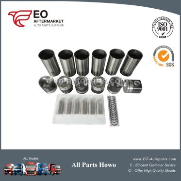 Four Supporting KC1560030011 Diesel Engine Truck Part Piston For SINOTRUK Howo And Steyr