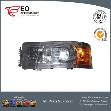 SHAANXI Shacman Truck Head Lamp, Cabin Headlight Assembly DZ9100726030
