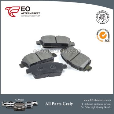 China Supplier Brake Pads 1014003350 For 2012-2017 Geely Mk King Kong