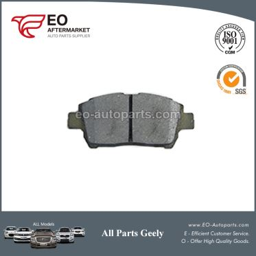 Genunine Parts Brake Pads 1014003350 For Geely Mk Cross King Kong Cross