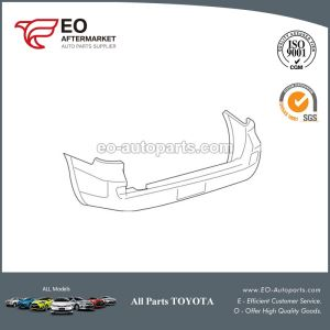 Toyota Land Cruiser Rear Bumper Cover
